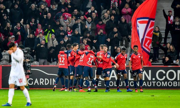 Ligue 1: Lille sempre più secondo, poker al Nizza di Vieira