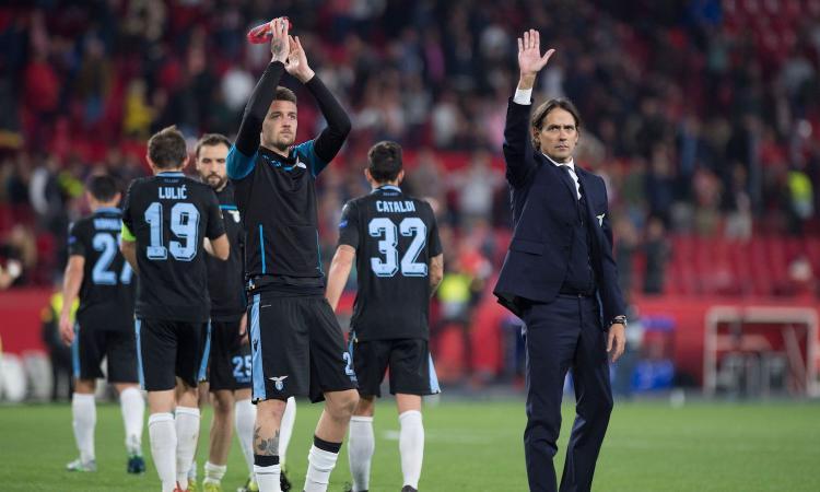 Ancora troppo Siviglia per la Lazio, ma quel rigore e alcune scelte di Inzaghi...