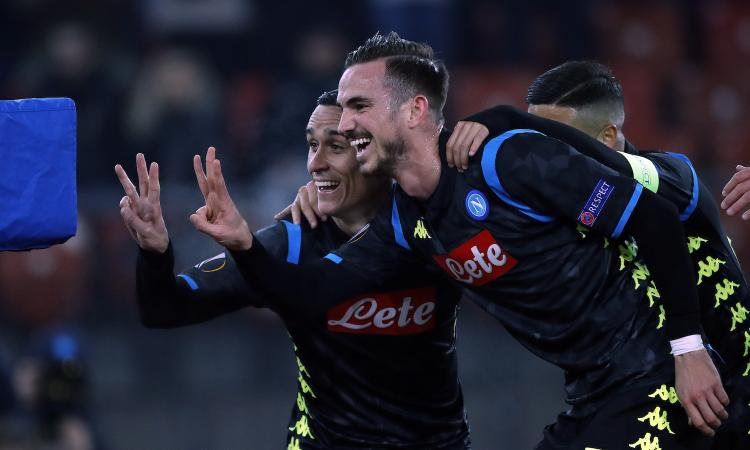 Napoli, ottavi a un passo: è 3-1 a Zurigo