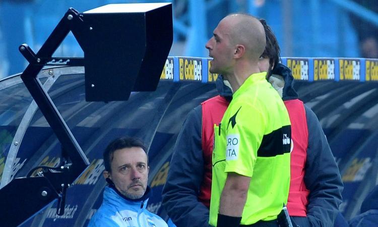Lazio-Lecce: il Var è Pairetto, ecco arbitro e assistenti