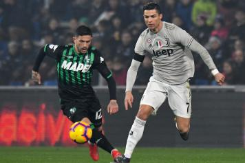 Sensi Sassuolo Ronaldo Juve