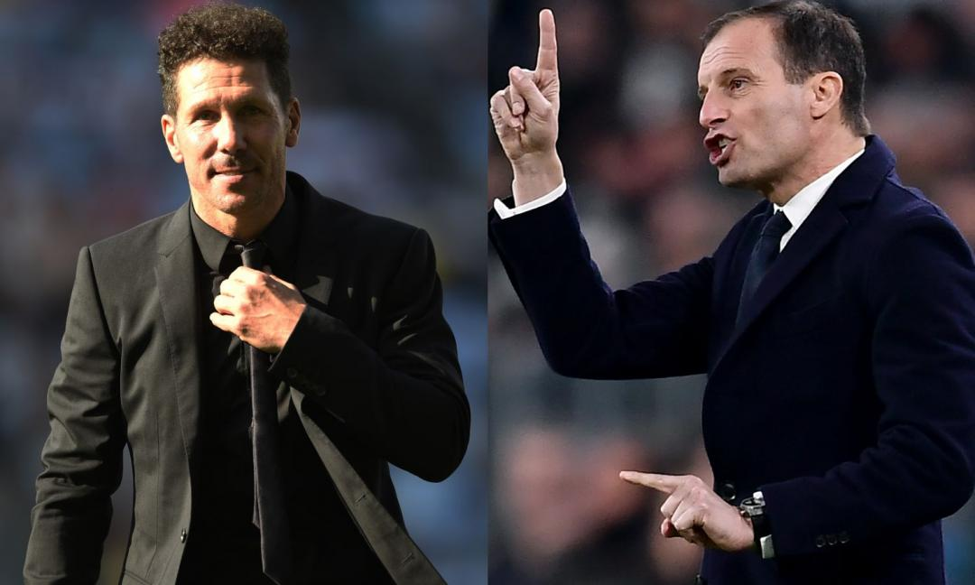 Simeone vs Allegri: uno a zero