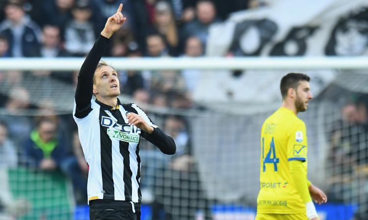 Nicola la vince coi cambi e con una gomitata galeotta: ora l'Udinese vede la luce, il Chievo è senza speranze