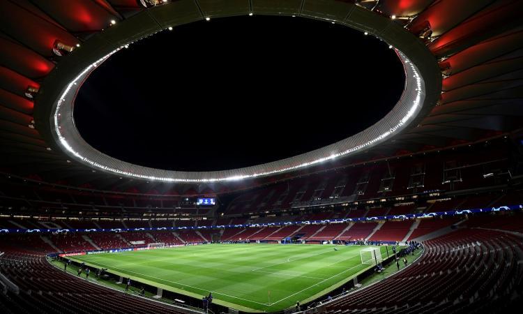 Real Madrid, chiesta la disponibilità del Wanda Metropolitano all'Atletico