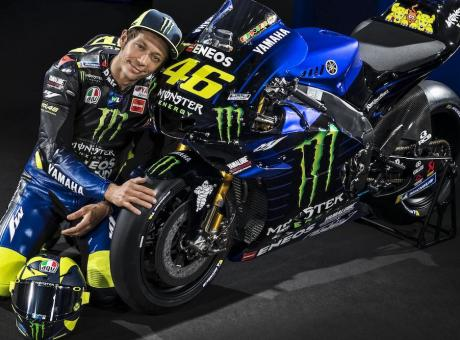 MotoGP: la nuova Yamaha, livrea interista per Valentino Rossi FOTO e VIDEO