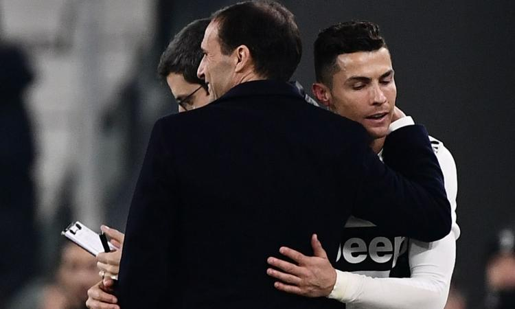 Juve: Allegri resta, dubbio Ronaldo