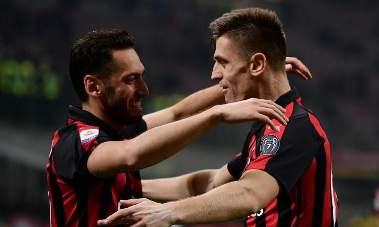 Calhanoglu: 'Resto al Milan per fare come la Juve in Champions, l'Inter...'