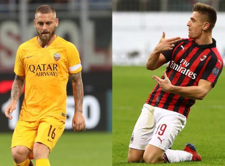 Gattuso lo sa, la Roma non è morta: De Rossi (e non Piatek) chiave Champions