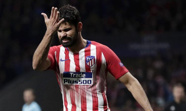 Atletico Madrid, nuova squadra per Diego Costa