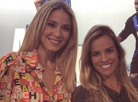 Mou e Julio Cesar con Mariana Fontes, la Diletta Leotta del Brasile FOTO