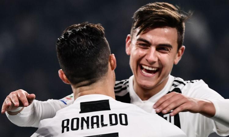 Dybala-Ronaldo e Bonucci-Chiellini: le coppie giuste dal Frosinone all'Atletico