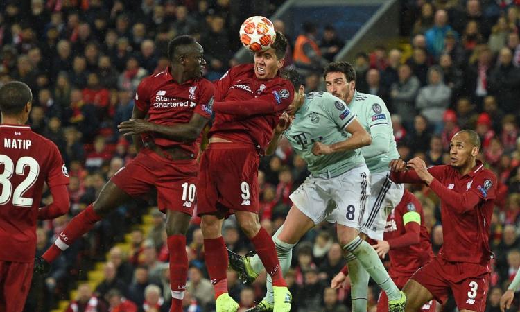 Champions, Liverpool-Bayern senza gol: steccano Salah e Lewandowski