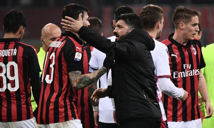 Milan, Gattuso: 'Non non esiste l'io, conta solo il noi. Il rientro di Biglia? E' un problema, con Bakayoko...' VIDEO