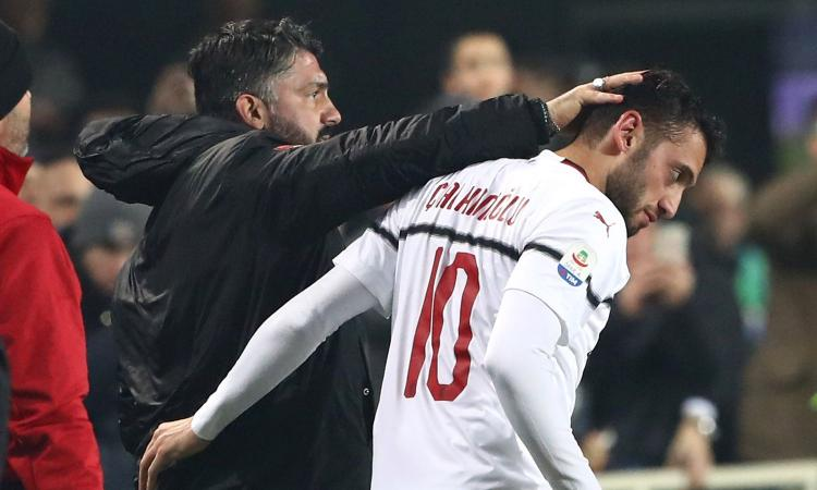 Milan, Calhanoglu al miele su Gattuso: 'I suoi discorsi erano da pelle d'oca'
