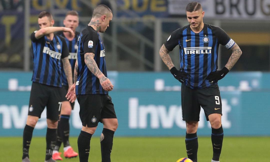 """Inter: rispetto all'andata """"solo"""" 1 punto e 0 gol fatti"""