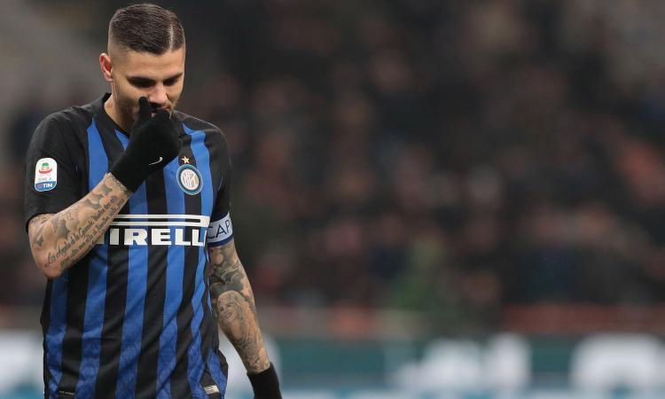 Furia Icardi: senza scuse non torna in campo, pensa che l'Inter l'abbia ceduto