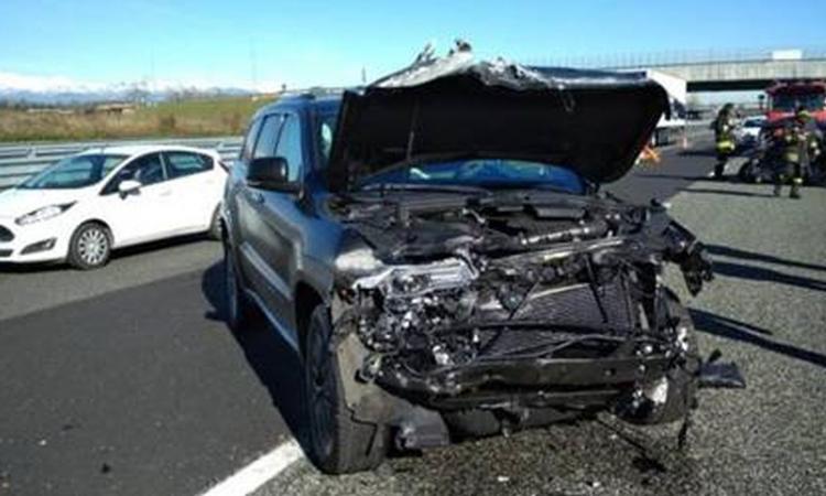 Incidente d'auto per Douglas Costa!