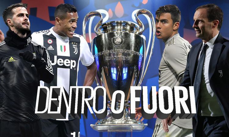 Juve, la Champions decide il futuro: da Alex Sandro a Dybala, chi rischia l'addio