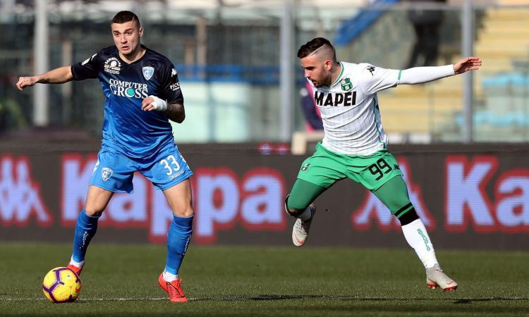 Sassuolo 'sbagliato', Empoli spietato: gli strappi di Krunic ricordano Zielinski