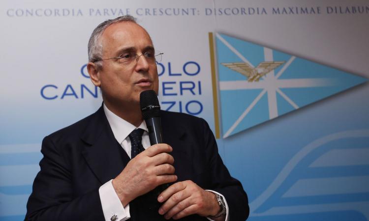 Lotito: 'Ha ragione De Rossi, è la miglior Lazio del dopo Veron. Sul quarto posto...'