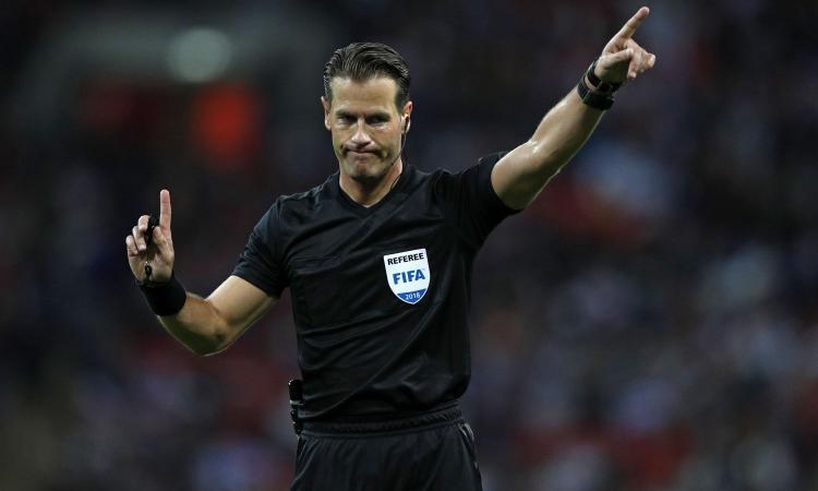 Champions, la designazione arbitrale di Atletico Madrid-Juventus