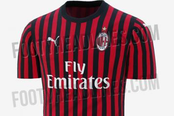 finest selection a5ad6 c409c AC Milan news: The Rossoneri's 2019/20 home kit leaked ...