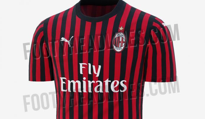 84d5ccce4f3 AC Milan news: The Rossoneri's 2019/20 home kit leaked | English ...