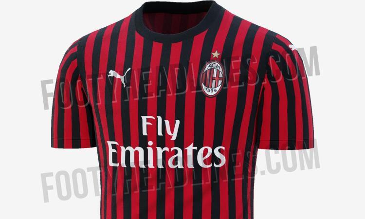 31522a693b5fc3 Milan, svelata la maglia 2019/20 FOTO   Primapagina   Calciomercato.com