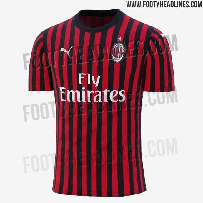 d351b7ca391 AC Milan news  The Rossoneri s 2019 20 home kit leaked