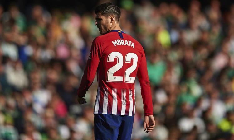 Atletico, Morata chiama Padoin: 'Vieni a Madrid'