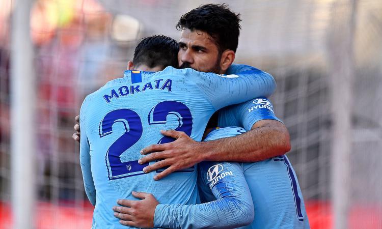 Atletico Madrid con Morata e non Diego Costa? Un bene per la Juve
