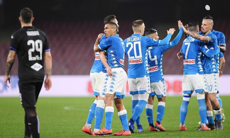 Napoli3 Riscossa Ferma A Undici La Alla Striscia 0 SampdoriaSi XZiuPTOk