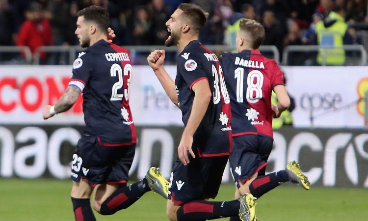 Il Cagliari torna a vincere: 2-1 al Parma, la ribalta un super Pavoletti