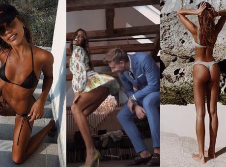 Bendtner ai domiciliari, ma con Philine il tempo vola per il 'Lord' FOTO