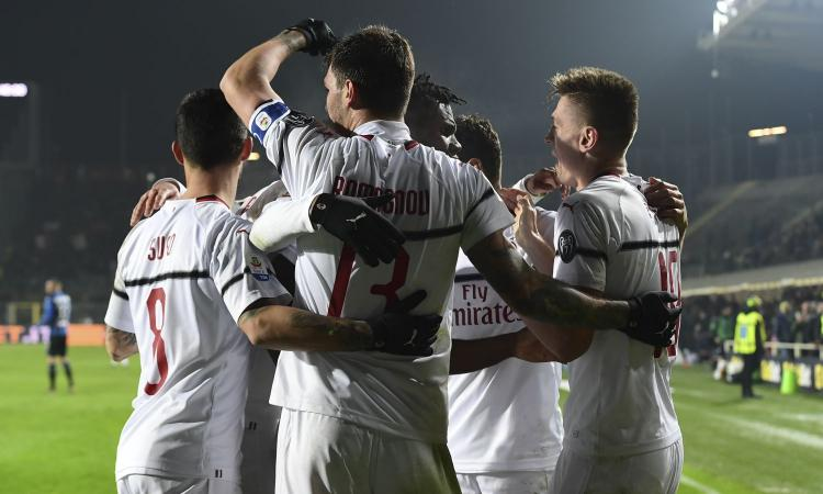 Il Milan ribalta l'Atalanta: 3-1 a Bergamo, Gattuso blinda il quarto posto