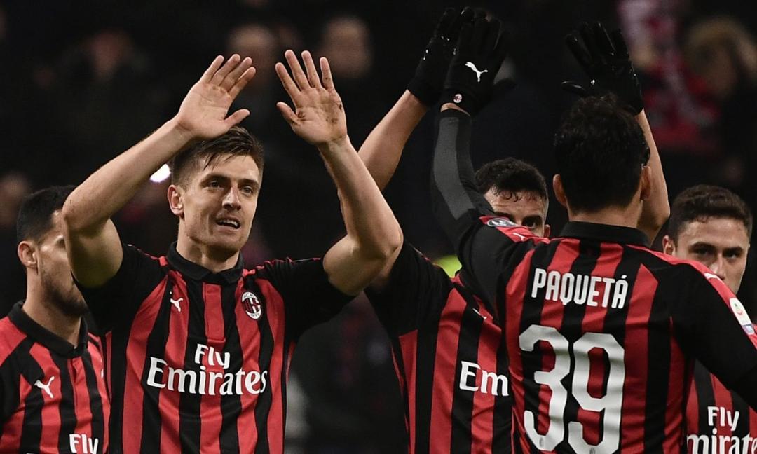 Milan, vittoria con il Tris. Cagliari ko tre...mendo