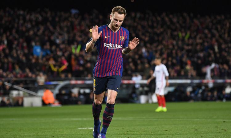 Inter, attenta: c'è anche il Manchester United  su Rakitic