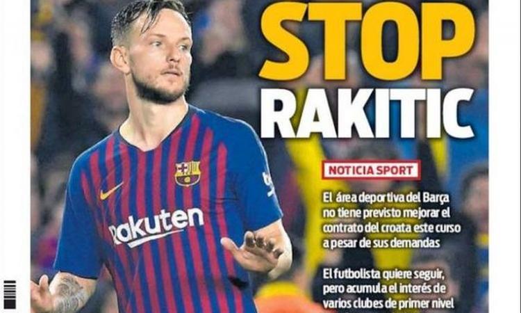 Barcellona, no al rinnovo di Rakitic e prezzo fissato: Juve e Inter ci sono