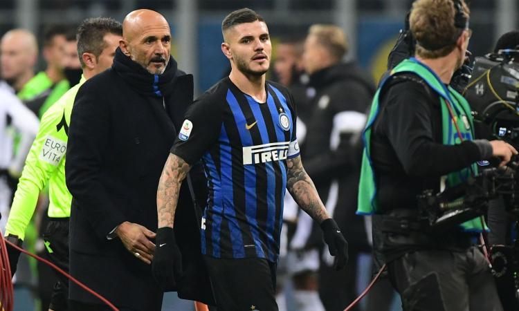 Icardi: e se l'Inter avesse sbagliato? Dalla guerra Spalletti-Totti a Moggi...