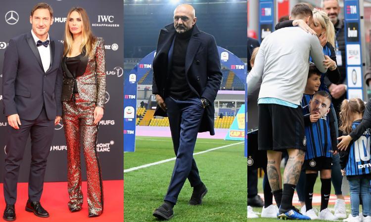 'Piccolo uomo': Spalletti da Ilary a Wanda. J. Bieber come Kaká, Icardi...