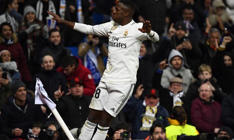 Real Madrid, Vinicius in uscita: ci pensa l'Arsenal