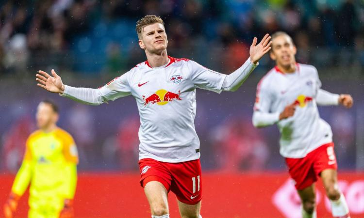 Inter: Werner in alternativa a Lukaku