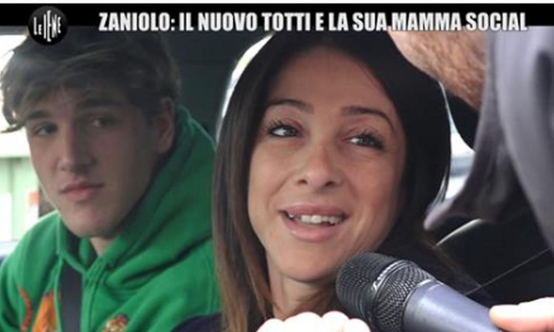 La mamma di Zaniolo a muso duro contro i tifosi della Lazio!