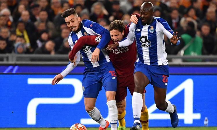 Roma-Porto 2-1: il tabellino