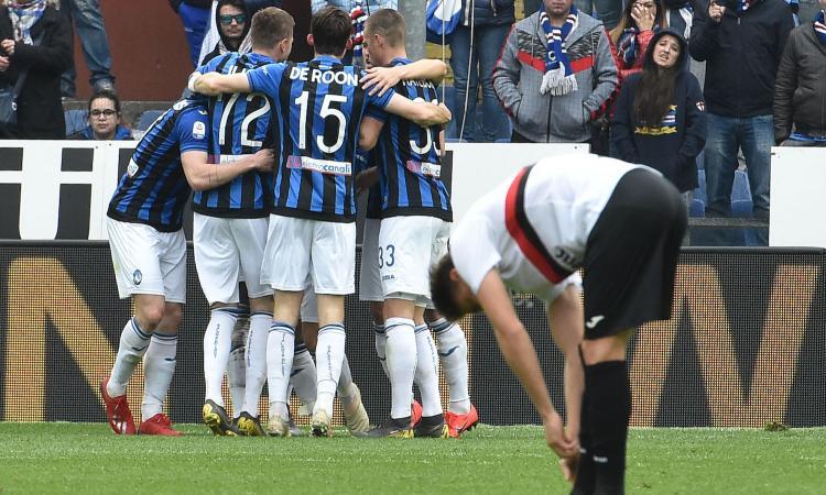 Serie A: 2-1 Atalanta alla Sampdoria. Il Torino vince in rimonta, ok il Bologna