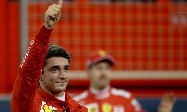 Formula 1: doppietta Ferrari con Leclerc in pole, che fatica Hamilton FOTOGALLERY