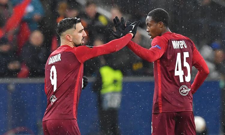 Salisburgo-Napoli 3-1: il tabellino