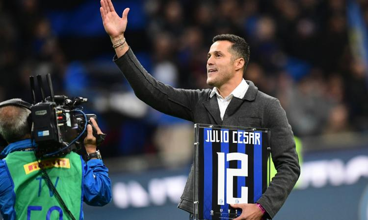 Julio Cesar a Diletta Leotta: 'Adriano mi portò all'Inter' VIDEO