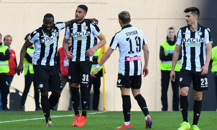 Udinese, le pagelle di CM: Pussetto sopra la media, sprofonda Ekong
