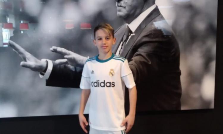 Olghe Balliu, 13enne veneto figlio di un albanese, nel mirino del Real Madrid: 'Tifa Juve e palleggia meglio di Messi' VIDEO